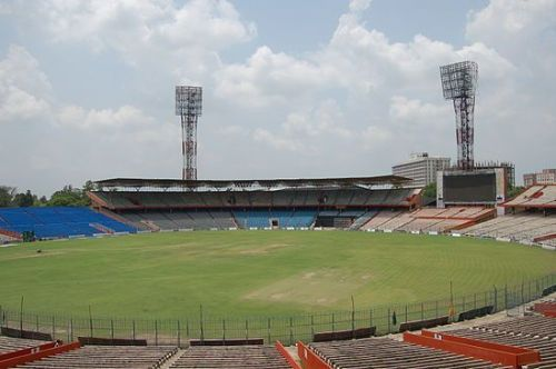 Bihar played Sikkim at the Moin Ul Haq Stadium