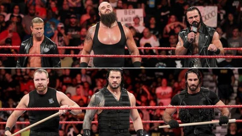 After SummerSlam 2018, The Shield vs Dogs of War was the only major feud on RAW