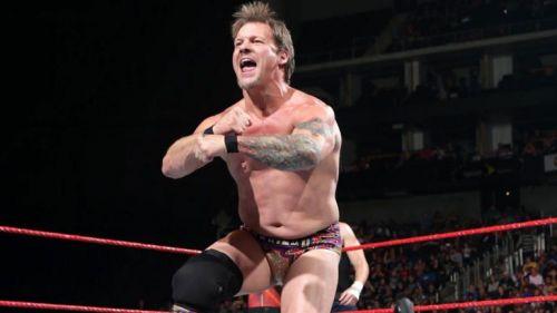 Jericho on RAW.