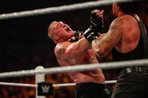 Brock Lesnar and Undertaker have had some fierce battles