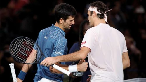 Novak Djokovic and Roger Federer could rekindle their rivalry at the Nitto ATP Finals