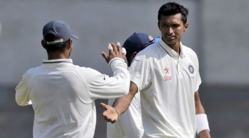 Saini was expected to make his Test debut this year