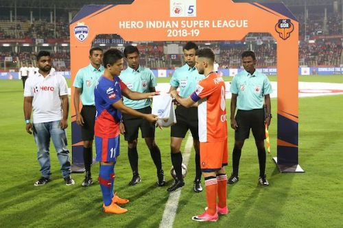 FC Goa faced their first defeat at home in this season