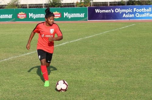 Pyari Xaxa, Indian women's team left-back