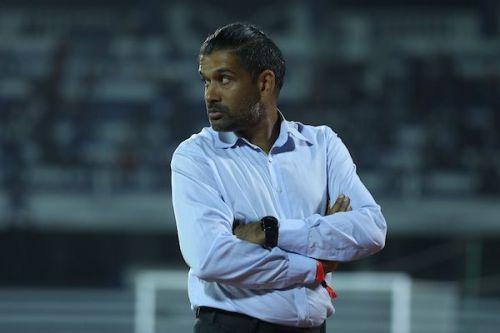 Pune City coach Pradyum Reddy [Image: ISL]