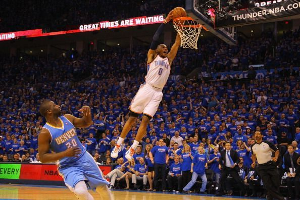 Westbrook did not miss a single game during his first three seasons