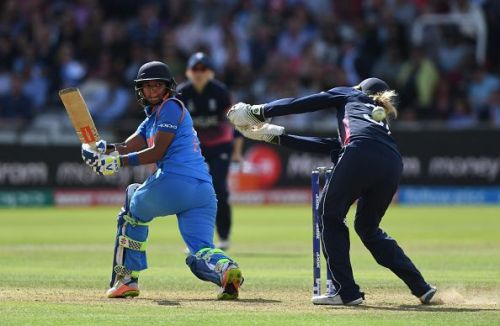 Harmanpreet Kaur is one of the most dynamic batters going around in women's cricket