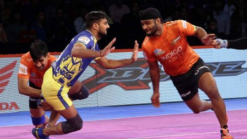 Surender Singh was in top form today for U Mumba