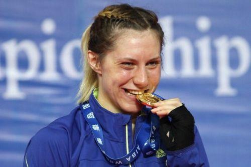 Mariia Bova Badulina of Ukraine