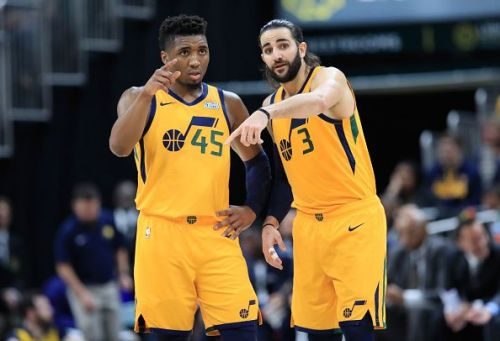 Donovan Mitchell has struggled in the early part of the season