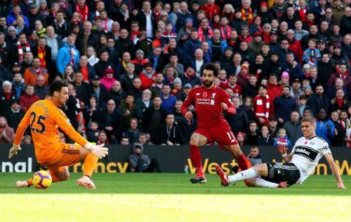 Liverpool beat Fulham 2-0 on Sunday