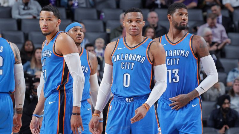 huge discount 64740 59caf The Best 5 Jerseys In OKC Thunder History