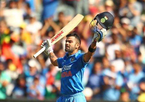 Kohli has become the first Indian batsman to score 3 consecutive ODI centuries