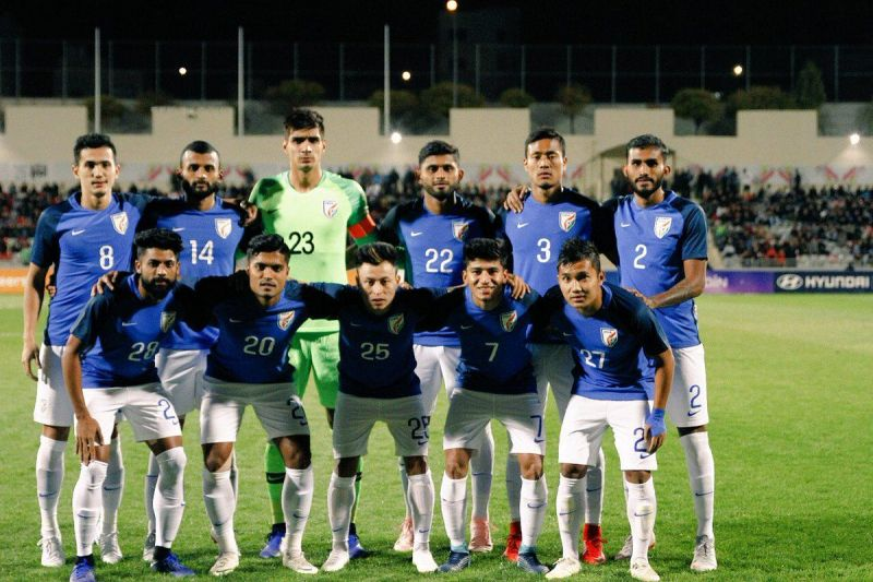 India lost 2-1 to Jordan in a recent friendly