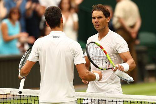 Nadal lost a five-set thriller to Djokovic at 2018 Wimbledon Championship.