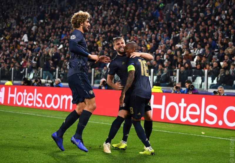 Man United came from a goal down to beat Juventus 2-1