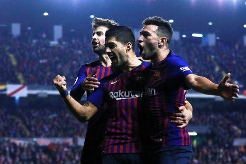 Barcelona left it late against Rayo Vallecano