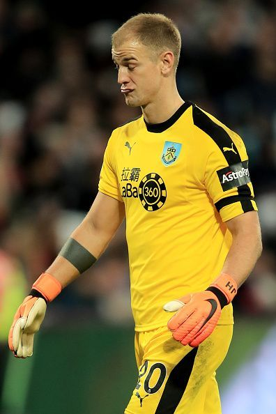 Once the England No1, Joe Hart now has been relegated to being named third on the goalkeeper list