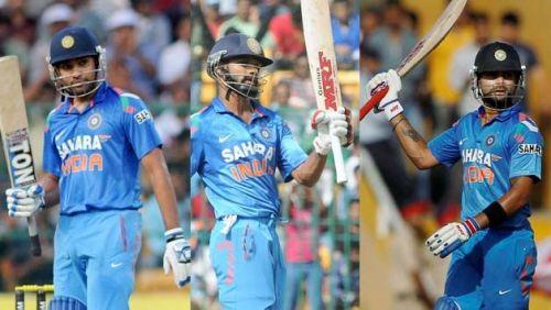India's Top 3 Batsmen