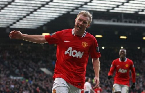 Scholesy had a trophy-laden 19-year career at his beloved Manchester United