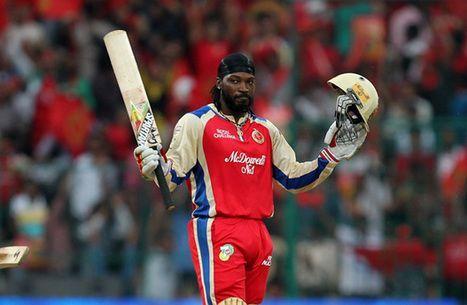 Chris Gayle scored T20's highest individual score against Pune Warriors
