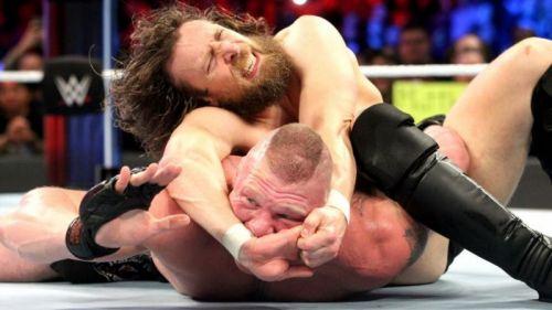 Daniel Bryan almost won the match.