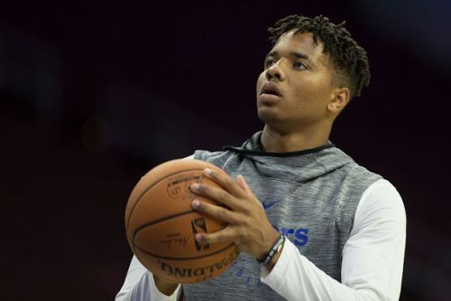 It took Fultz over a year to knock down his first three-pointer