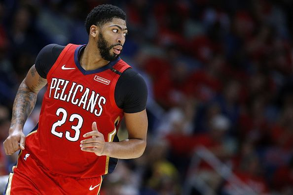 Anthony Davis way too much for Charlotte