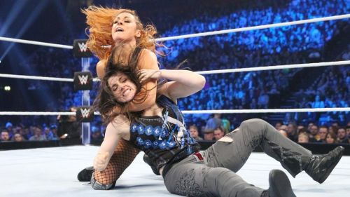 She finally made her debut on the SmackDown brand