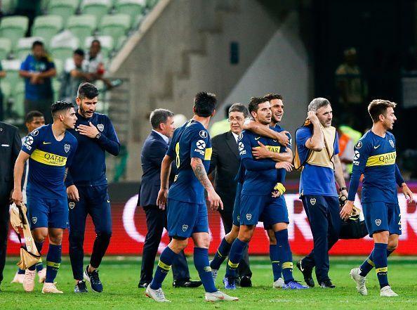 e8baa9e9a0 Copa Libertadores  Palmeiras 2-2 Boca Juniors (aggregate 2-4)  5 ...