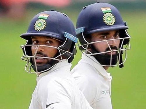 Dhawan and Rahul