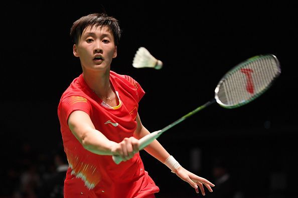 Chen Yufei of China