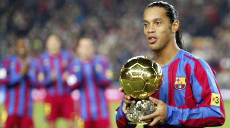 Ronaldinho was on the brink of signing for Manchester United in 2002. (Image: FourFourTwo)