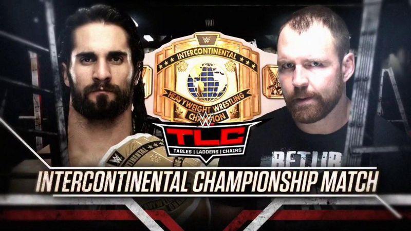 Rollins vs Ambrose