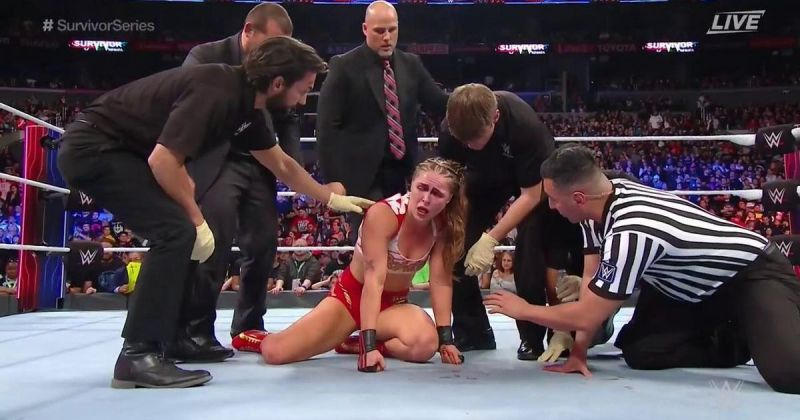 Ronda Rousey left it all in the ring at Survivor Series