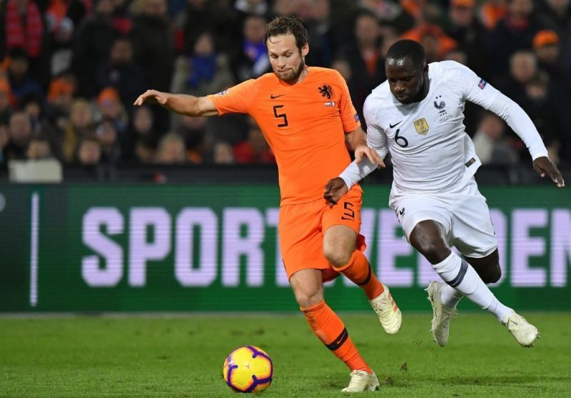 Moussa Sissoko was a surprise substitution from the France bench and didn't perform well either