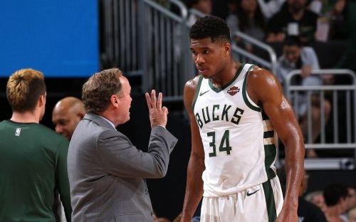 Budenholzer has led the Bucks to a 16-7 record, which is second in the East