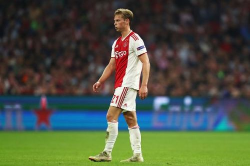 Frenkie is one of the most consistent defensive midfielders in the world