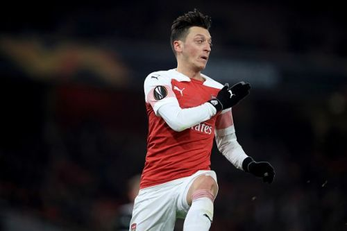 Mesut Ozil should be included in the line-up