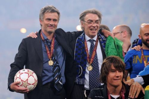 Mourinho won a historic treble with Inter in 2010