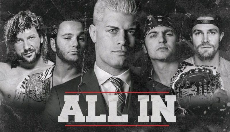 Cody and crew are making plans for the second All In event.