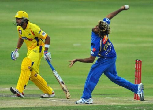 CLT20 2012 Chennai Super Kings v Mumbai Indians