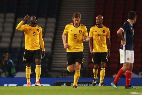 Lukaku's a different beast altogether with Belgium