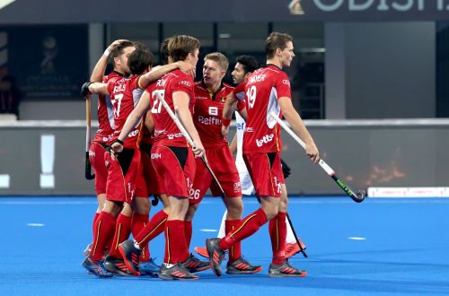 Belgium made short work of Pakistan (Image Courtesy: Hockey India)