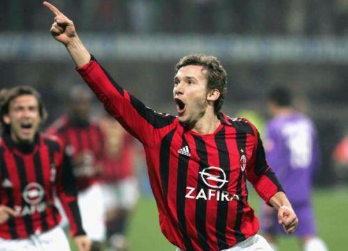 Milan legend, Andriy Shevchenko