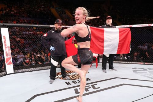 Valentina Shevchenko has been waiting for a shot at the Flyweight title since February