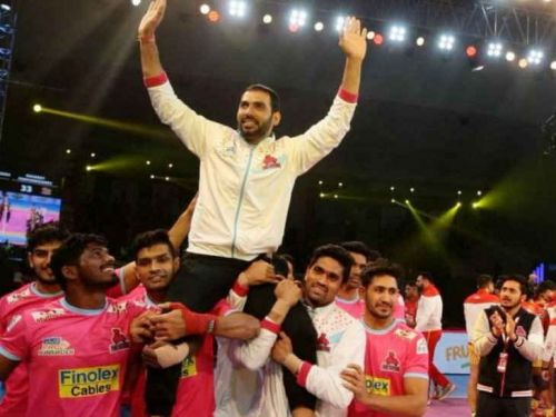 Anup Kumar retired after serving kabaddi successfully for 15 years.