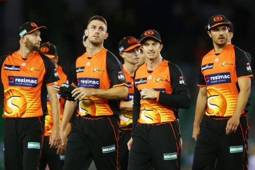 Perth Scorchers are aiming for their first points in BBL 08
