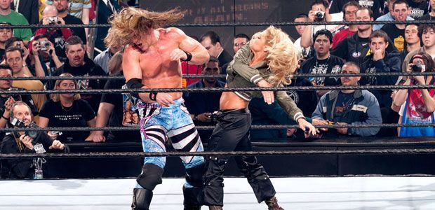 WWE Rumor: Possible reason why intergender matches have ... Trish Stratus And Jeff Hardy 03.24.2003