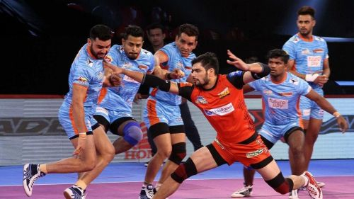 Rohit Kumar would look to continue his terrific form against the Bengal Warriors.